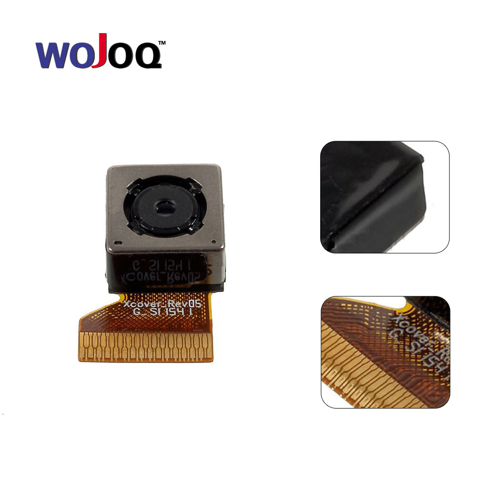 WOJOQ Original For Samsung J3 (2016) J320 J320F Replacement Parts Rear Back Camera Main Camera Module Ribbon Flex