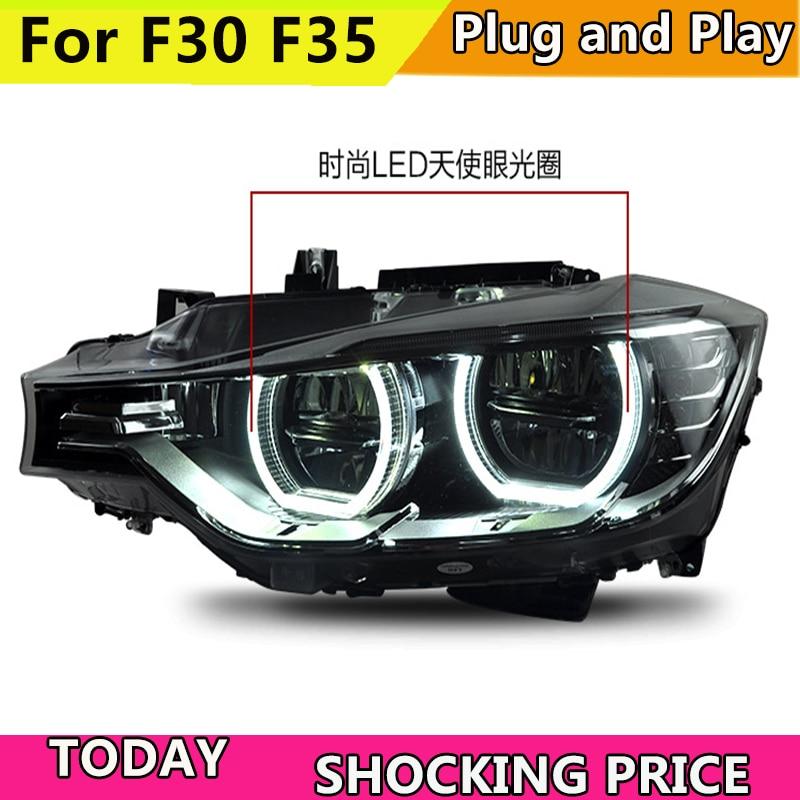 doxa Car Styling for BMW 316i 320i 328 335 Headlights 2013 2015 F30 F35 LED Headlight