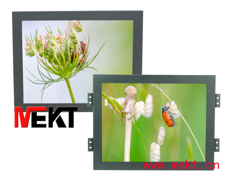 19 Industrial Embedded LCD Monitor With 1280x1024 resolution with hdmi&vga input