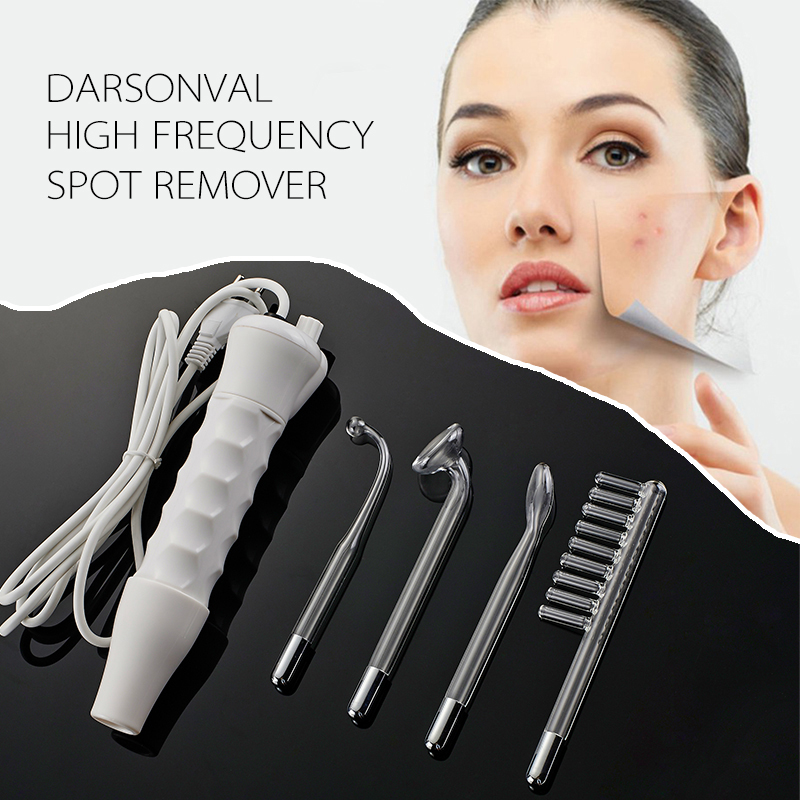 Portable D'arsonval Darsonval High Frequency Spot Remover Facial Skin Care Spa Beauty Device Professional Free Shipping MBO-39