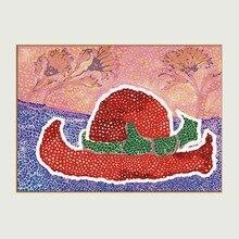 Yayoi Kusama Purple Pumpkin Oil Painting On Canvas