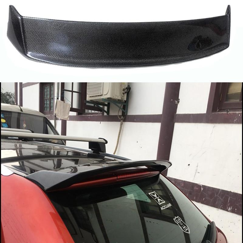A3 8P Sportback Carbon Fiber Roof Lip Spoiler Wing For
