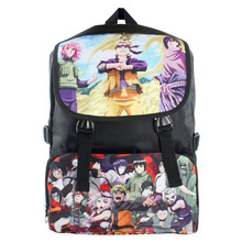 Anime Naruto Shippuden Uzumaki Naruto/Itachi/Sasuke etc Portátil Impermeable Mochila/Doble-Hombro/Bolso de Escuela/Bolsa de Nylon de viaje