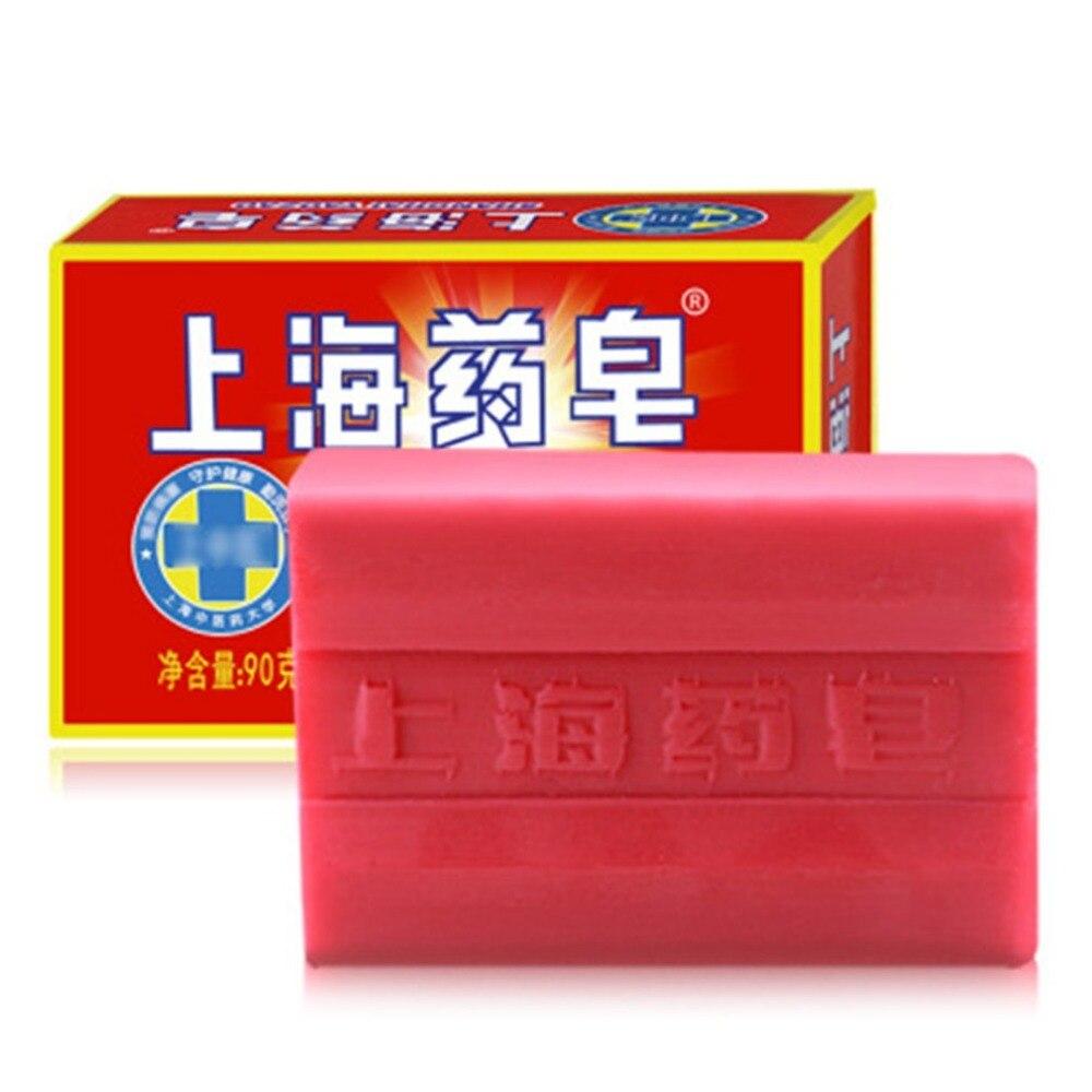 1 st 90g transparant rood china medicinale zeep 4 huidaandoeningen