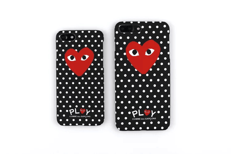 66e272244d0cd1 Fashion Trend CDG PLAY Comme des Garcons eyes Fluorescence Hard PC Phone  Case cover For iPhone 7 6 6Plus 6s 7Plus 6s Plus-in Half-wrapped Case from  ...