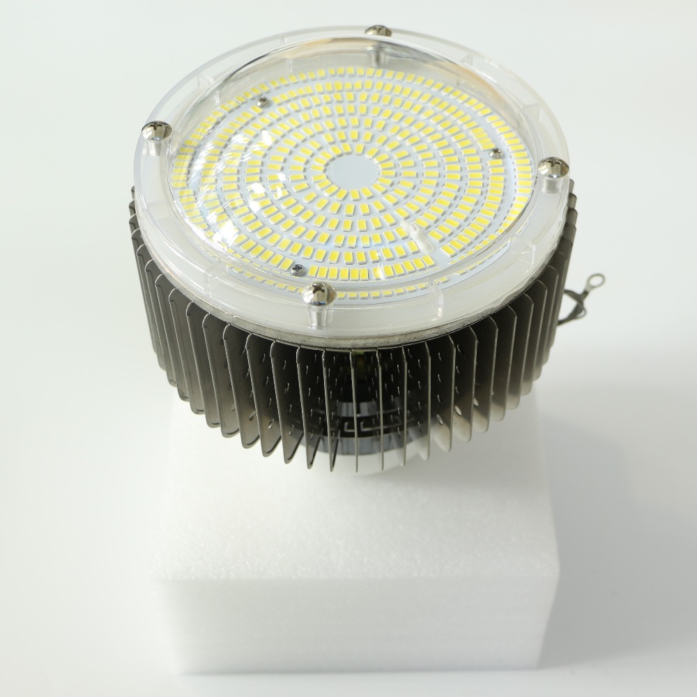 цена на 10pcs HY ac 85-265v LED high bay light Energy Saving Energy Saving Lamp Industrial factory LED 100W Free shipping