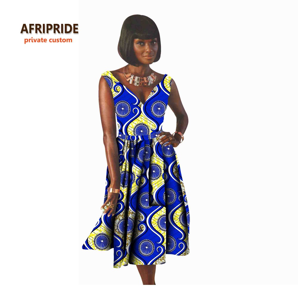 Robe Africaine: African Sexy Party Dress For Women African Clothes Bazin