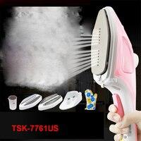 TSK-7761US 220 v casa handheld máquina de suspensão ferro mini portátil vapor escova vencedor artefato ferro vestuário vapores viagem 70ml