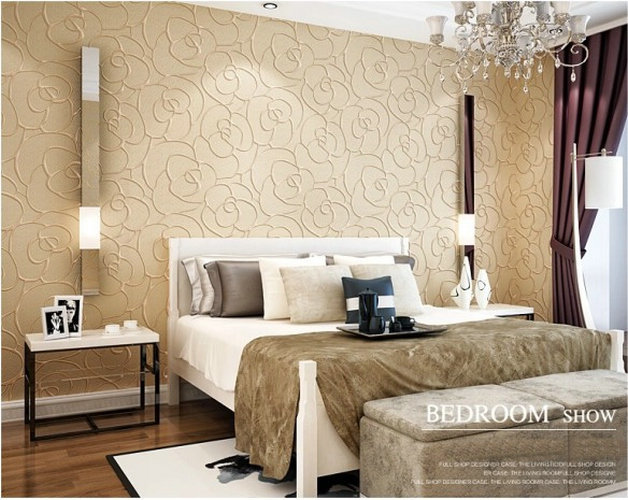 Modern Home Decorative 3d Wall Panels Bedroom Wallpaper