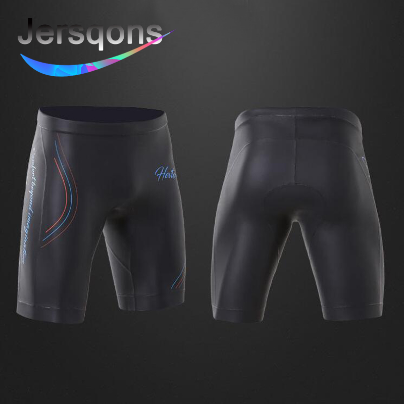 Jersqons Men 3mm Triathlon High Quality YAMAMOTO High Elastic Neoprene Buoyancy Shorts CR Light Smooth Skin