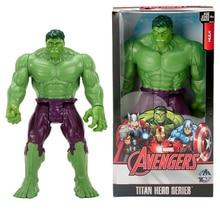 12″30CM Super Hero The Avengers Hulk Action Figure Movable Joints Marvel Anime Toy Model Captain America Iron Man Doll