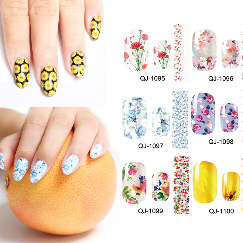 how to use nail art stickers