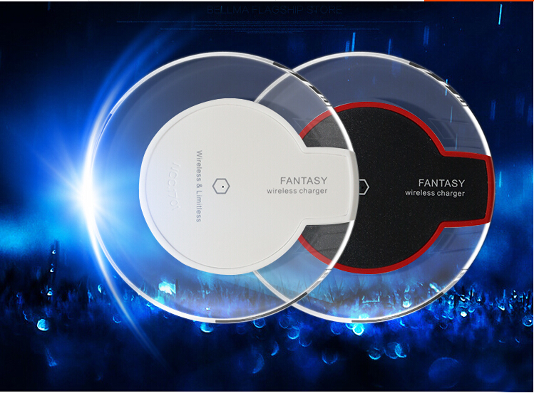 Universal Qi Wireless Charger Charging Pad for Samsung Galaxy S6 / S6 Edge Plus Nokia Lg G4 G3 G2 V10 Cargador Movil Inalambrico