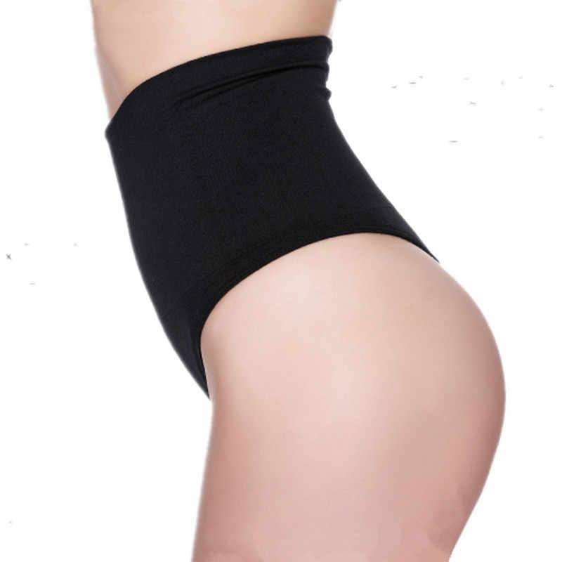 d3ddcb9a03c5f ... Women High Waist Trainer Tummy Slimming Control Cincher Underwear Body  Shaper Thong G-string Butt ...