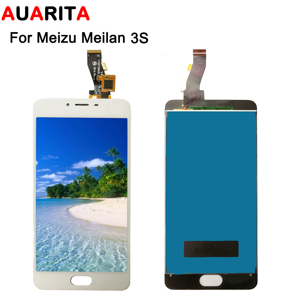 1pcs LCD For <font><b>MEIZU</b></font> <font><b>M3S</b></font> <font><b>Mini</b></font> LCD <font><b>Display</b></font> Screen Touch panel Screen Digitizer Glass Panel Meilan 3S <font><b>M3S</b></font> Replacement Assembly image