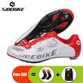 Мужские кроссовки для езды на велосипеде SIDEBIKE  легкие дышащие спортивные кроссовки для езды на велосипеде  гоночные кроссовки  2019