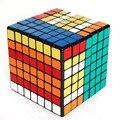 2016 Hot adultos juguetes ShengShou 7 capas de velocidad negro siete etapa Magic Puzzle cubos mágicos juguetes para los niños con adicional pegatinas - 50