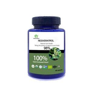 Image 1 - טבעי Resveratrol 100 pcs/בקבוק 100% Polygonum cuspidatum תמצית אבקה