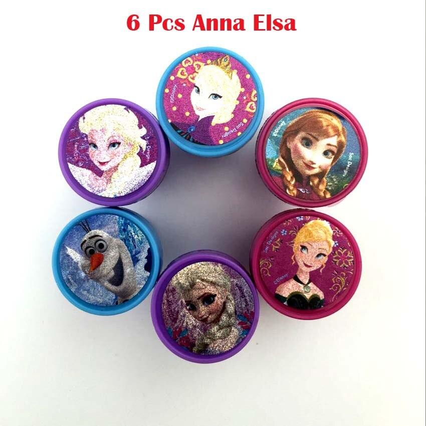 6 Pcs Anna Elsa