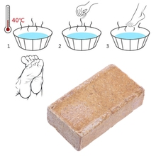 50g Body Care Foot Bath Soap Natural Herbs Odor Smell Remover Massage Antibacterial Scent