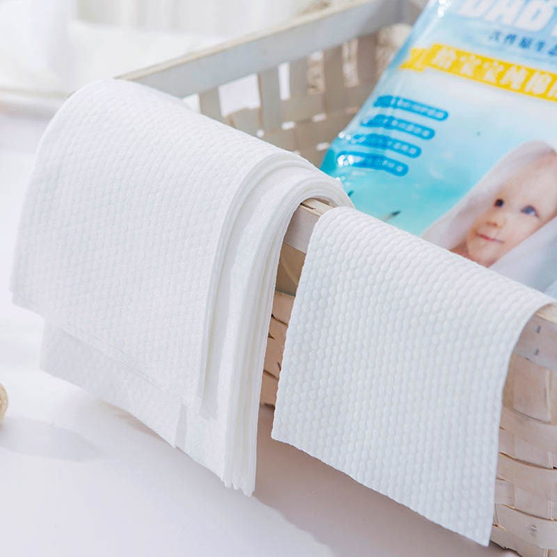 Newborn Baby Bath Towel Cotton Gauze Solid Soft Breathable 3 PCS Wipe Towel + Towel + Bath Towel Comfortable For Babies