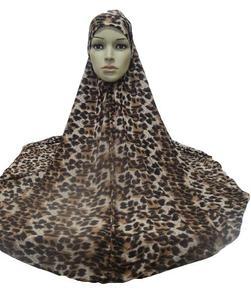 Image 5 - Hiyab islámico para mujer, hiyab musulmán grande para rezar, ropa árabe para la cabeza, hiyab, Ninja
