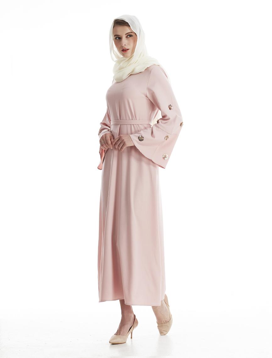 30174cd78f575 جديد 2017 نمط النساء العباءة الإسلامية مسلم ثوب أبيض أزرق أسود الرجعية زهرة  فساتين الصيف الخريف إمرأة ثوب MSL081 روبيرUSD 19.89 piece. 1. 7006 2 1 4 ...