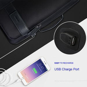 Image 3 - BOPAI Maschio Borse di Modo USB di Ricarica Zaino per Gli Uomini borsa da Viaggio di Affari Del Computer Da 15.6 Pollici Zaino degli uomini di Casual di Lavoro Daypacks