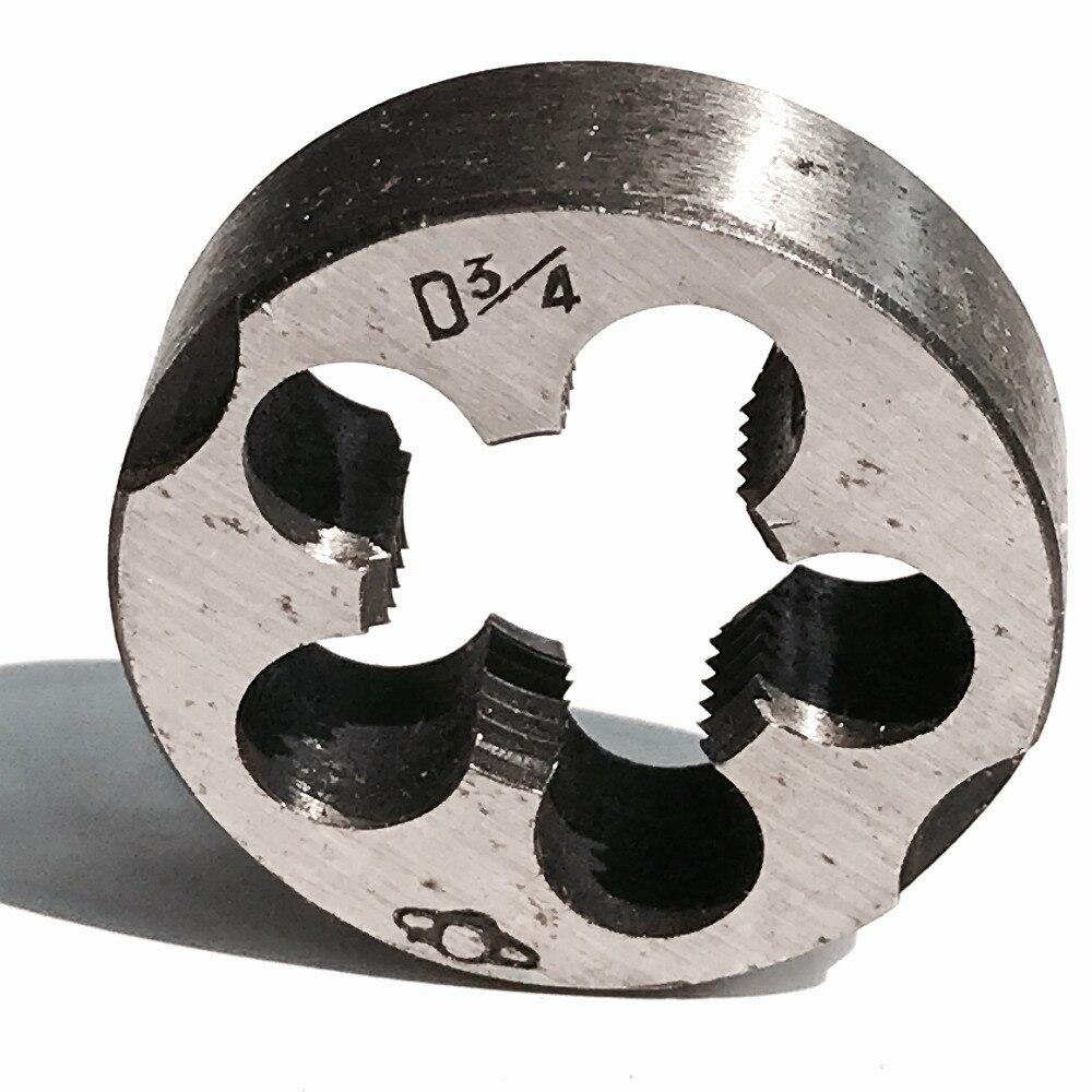 Werkzeuge Freundlich Freies Verschiffen Von 1 Stück Diy Qualität Uns 3/4-18 Amerikanischen Standard Sterben Threading Werkzeuge Drehmaschine Modell Ingenieur Gewinde Maker Kunden Zuerst