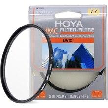 Hoya hmc uv (c) 37 40.5 43 46 49 52 55 58 62 67 72 77 82 mm filtro magro quadro digital multicoated mc uv c para a lente da câmera
