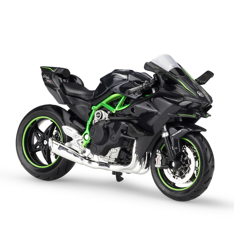 Mnotht 1:18 2016 Kawasaki H2R Motorcylce Diecast Model With Removable Base Collection Motorcycle Model Diecasts Toy Vehicles l65