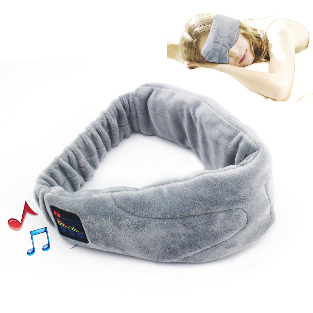 ФОТО 2.4GHz Wireless Sleep Headphones Stereo Bluetooth Headset For Listenting Music Answering Phone Eyeshade Sleeping Blinders