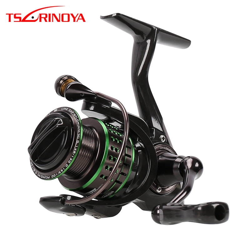 TSURINOYA 10+1 BB KINGFISHER 800 1000 Spinning Carbon Fishing Reel 5.2:1 Fishing Wheel Molinete Peche Para Pesca Carp Coil
