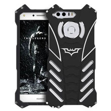 R-JUST Batman Rugged Metal Aluminum Shockproof Anti-Scratch Kickstand Case Cover Frame for Huawei Honor 8 Honor8 ORIGINAL(China)