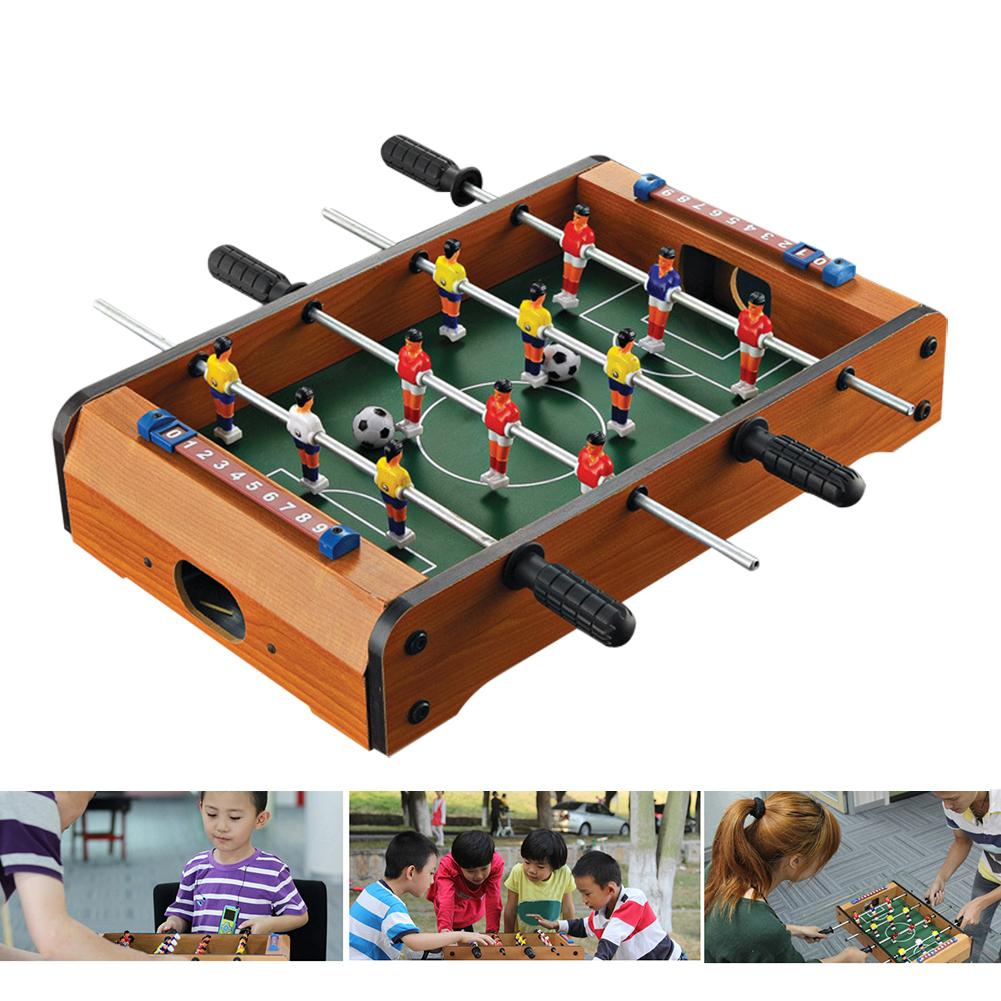 NEW Mini Table Soccer Football Board Game Indoor Entertainment Home Party Shop Toy image