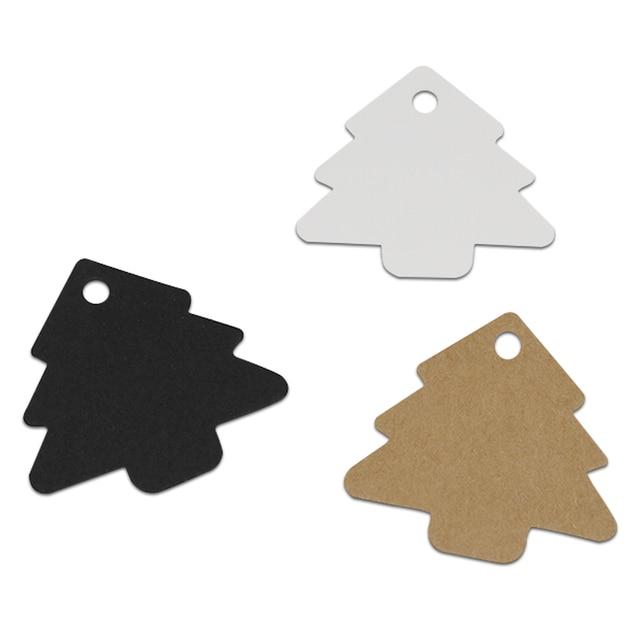 216212inch christmas tree brown kraft paper baking cake price hang tags diy gift