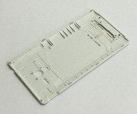 Zwart/Wit/voor Sony Xperia ZQ ZL LT35I C6503 C6506 L35H terug Batterij behuizing cover case batterij deur deksel|housing cover|battery housingback housing -