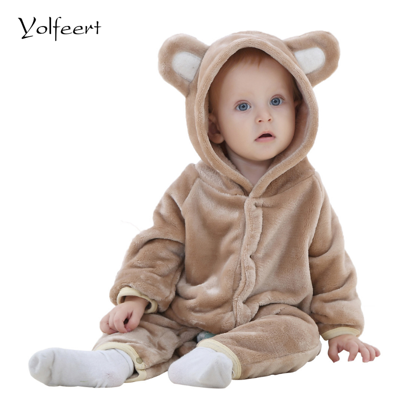 YOLFEERT Newborn Baby Boy Clothes Spring/Autumn Baby Girl Romper Rompers Fashion Baby Halloween Costume Jumpsuit New Born BS001
