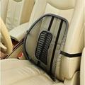 2017 Cadeira de Assento de Carro Almofada de Volta o Apoio Lombar Para O Carro assento Da Cadeira Do Escritório Da Massagem Malha Ventile Almofada Alívio Da Dor Pad DG106