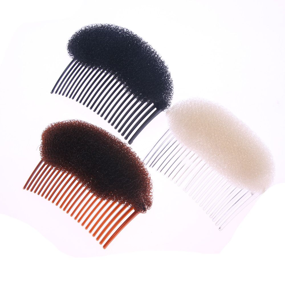 1PC Woman Lady Vogue Hair Clip Hot Stick Styling Clip Stick Hair Styling Sponge Clip Bun Maker Braid Tool Hair Accessories