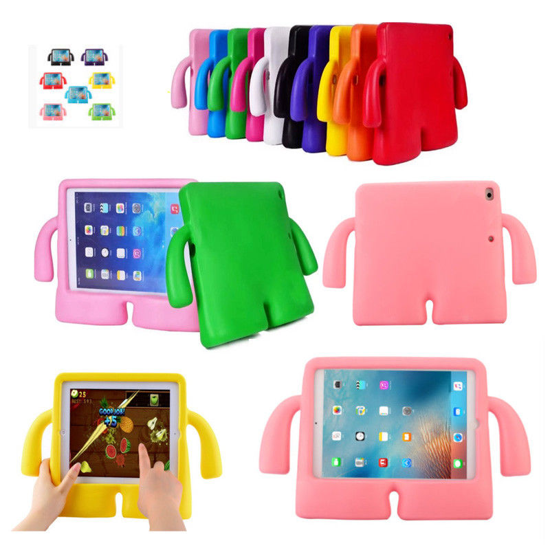 For iPad Mini Case Lovely robot Kids Friendly Non-toxic EVA Foam Shockproof Stand Cover Cases for iPad Mini 1/2/3/4 Coque Capa