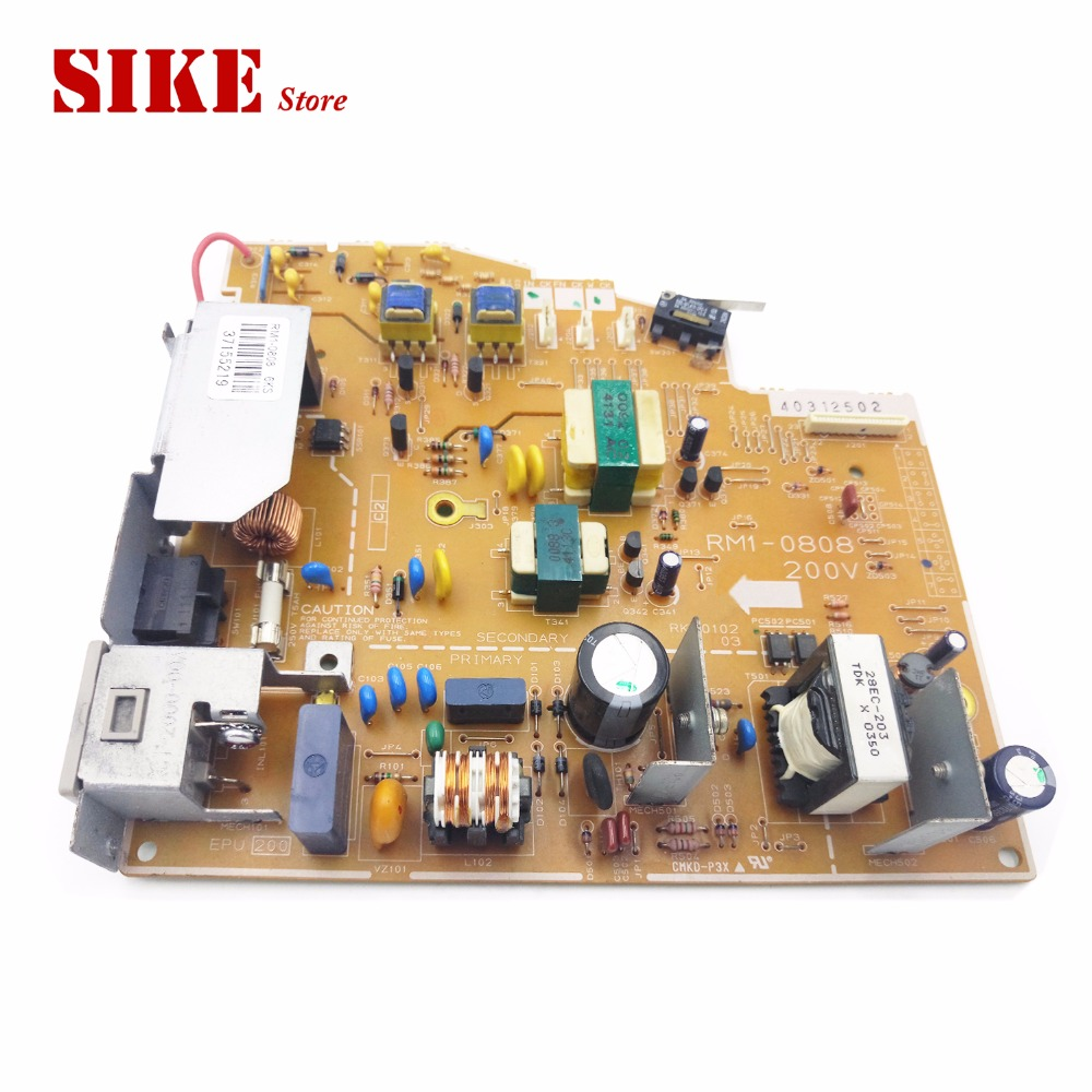 LaserJet Printer Engine Control Power Board For HP 1010 1012 1015 RM1-0808 RM1-0807 HP1010 HP1012 Voltage Power Supply Board flora printer high voltage switch board for lj320p printer