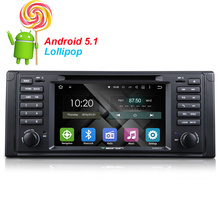 Quad-Core  Android 5.1.1  Car GPS Car DVD Player For BMW E39 1996~2003 GPS Navigation FM Radio Player