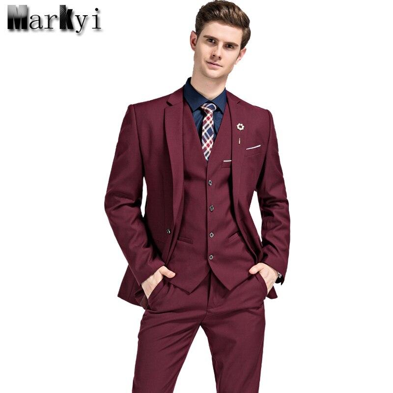 Мужской костюм MarKyi 2017 5XL 3