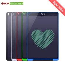 BDF 12 дюймов ЖК-дисплей планшет для письма цифровой графический Планшеты рукописного ввода графической информации колодки доска для рисования и ручки, кольцо для ключей, для детей