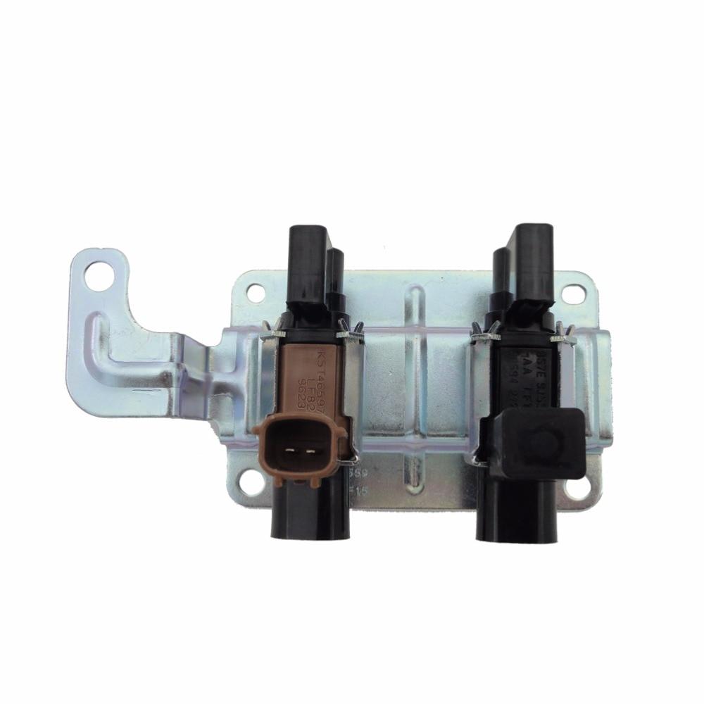 1 pièces Moteur absorbeur de vapeurs de carburant purge électrovanne LF82-18-740 Pour Mazda 3 2004-2009 2.0L