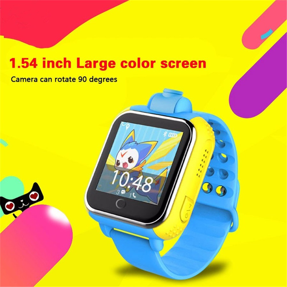 3G Kids Smart Baby Watch JM13 GPS Wifi Support GSM WCDMA with Rotatable font b Camera
