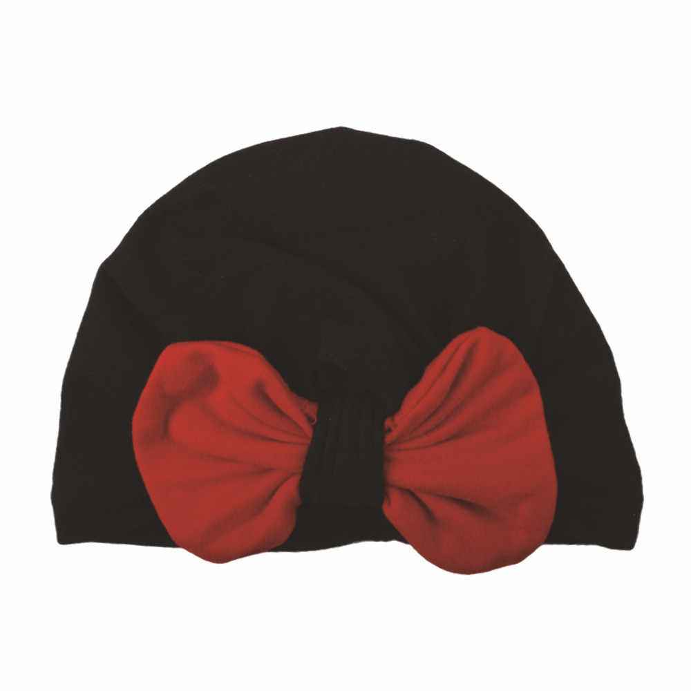 ทารกแรกเกิดเด็กทารกเด็กหมวกถักฤดูหนาว Warm Bow Beanie Headwear หมวกเด็กหญิงเด็กทารกแรกเกิด Beanie น่ารัก # EW