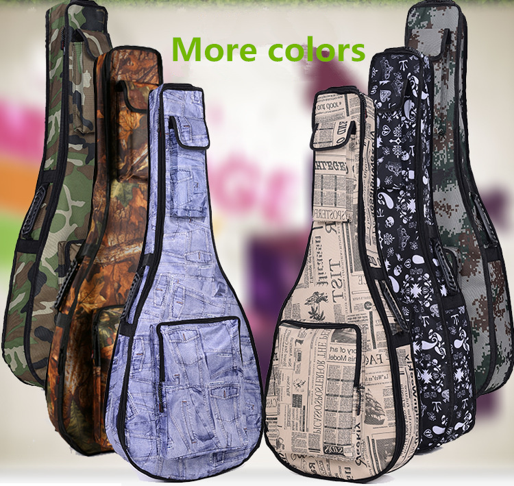 Waterproof mm Thicken 40 41 Steel-String Classical Guitar Bag Case Backpack More Color Guitarra Bass Accessories Parts Carry Gig 12mm waterproof soprano concert ukulele bag case backpack 23 24 26 inch ukelele beige mini guitar accessories gig pu leather