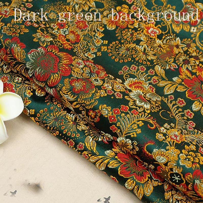 Chinese Ancient Costume Dress Baby Clothes Kimono Cos Silk Satin Sewing Jacquard Brocade Fabric in Fabric from Home Garden